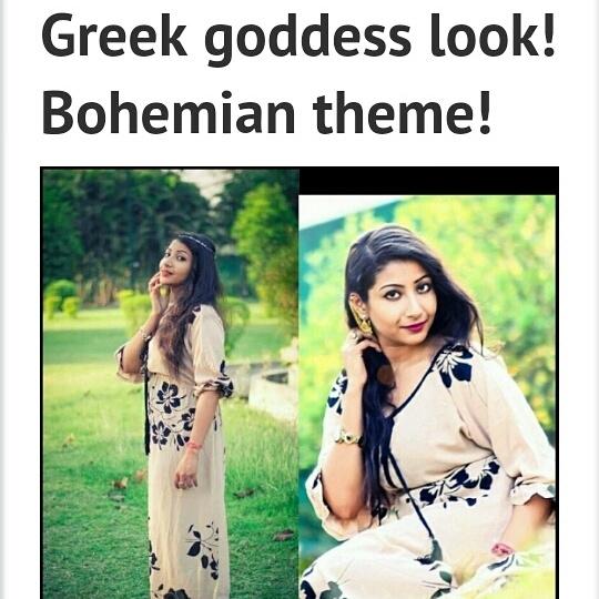 Greeky look .. Simple yet chic