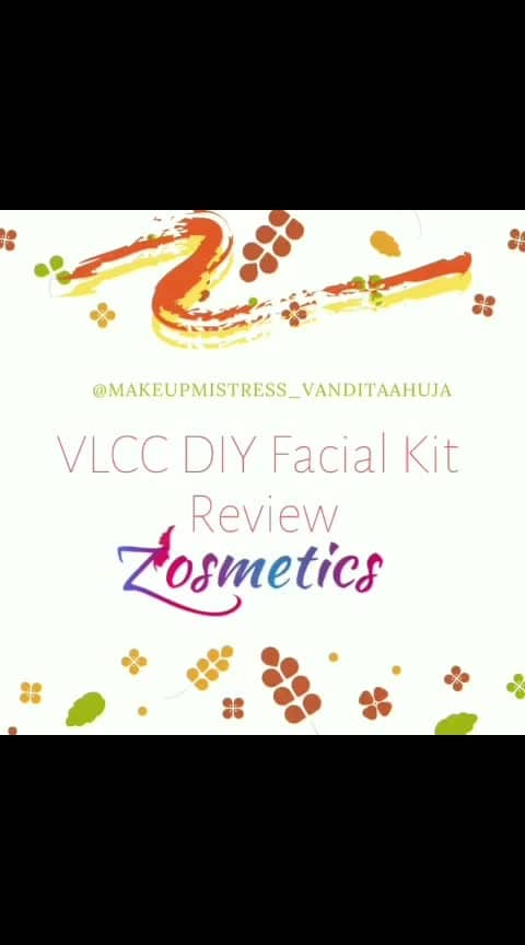 Product #review  of #vlccindia  Haldi & Chandan Facial Kit by MUA Vandita Ahuja #vlccindia  #diy  #facialkit #cosmetics #productreview #freeonzosmetics #freecosmetics #earnrewards
