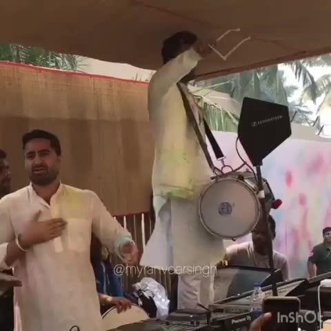 Holi with #RanveerSingh