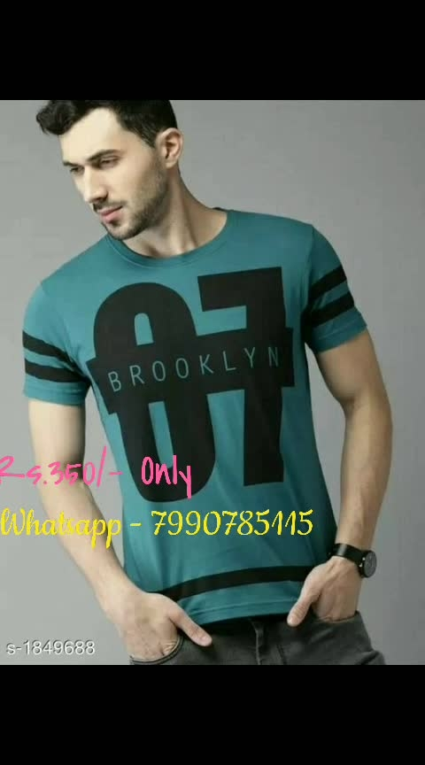 Elegant Men's Casual Cotton Solid T-Shirts  Fabric: Cotton  Sleeves: Sleeves Are Included  Size: M, L, XL  ( Refer Size Chart )  Length: Refer Size Chart   Type: Stitched  Description: It Has 1 Piece Of Men's T-Shirt  Pattern: Solid  Dispatch: 2 – 3 Days  Designs: 8  Easy Returns Available in Case Of Any Issue