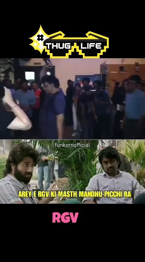 Thug life of Rgv #rgv #filmynews #filmymoments #filmyfocus