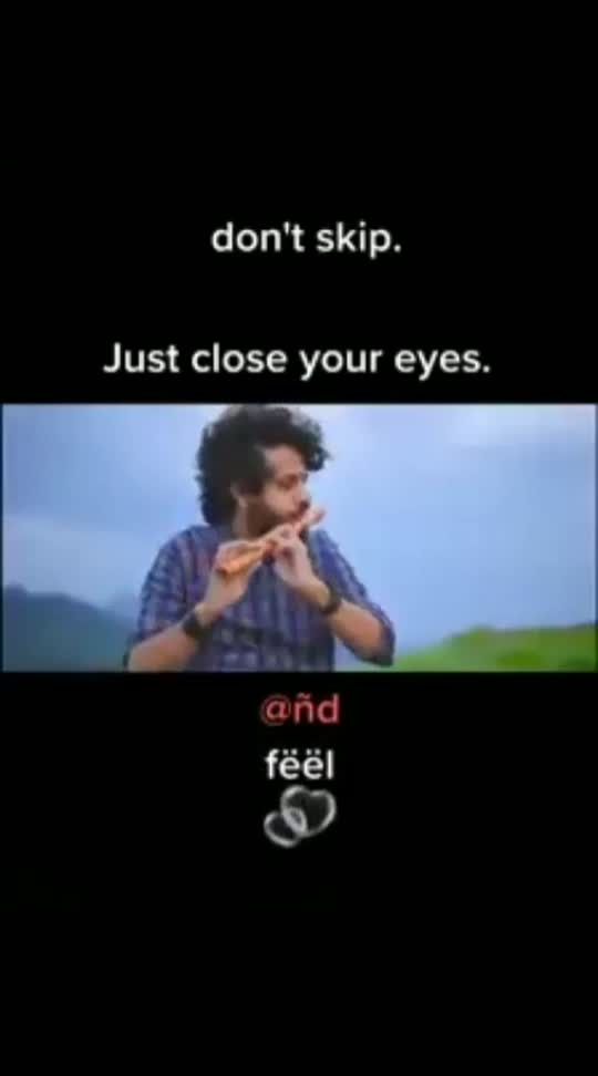 just close u are eyes