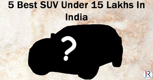 5 Best SUV Under 15 Lakhs In 2020 Before bringing your new prized possession home, here is a list of 5 Best SUV Under 15 Lakhs In 2020 worth considering to help you decide before making a worthy purchase. Read more-https://rapidleaks.com/automobile/best-suv-under-15-lakhs/ #roposo #roposostar #roposo-style #roposocar #roposoness #cars #bestcars #suv #bestSUV #rapidleaks #carsunder15lacs