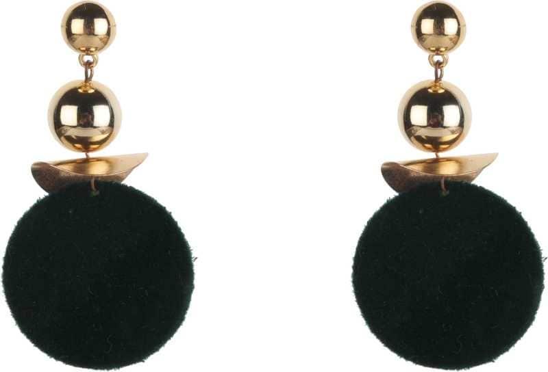 Drop Earrings For Women Green Metal Drops & Danglers  Base Material  Metal Color   Black Model Name Drop Earrings For Women Green Ideal For  Women  https://bit.ly/36yF2P2