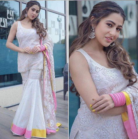 Sara Ali Khan in Manish Malhotra