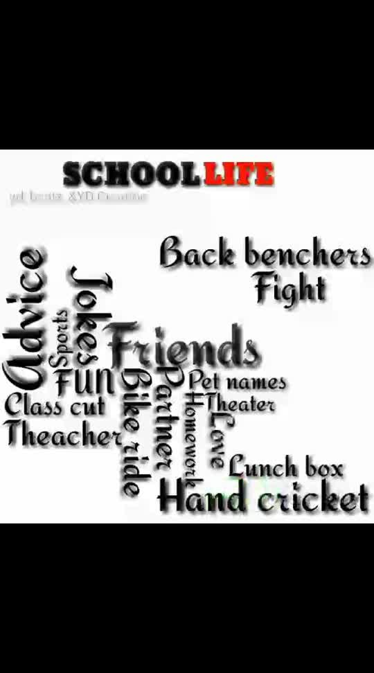 schl life.....#