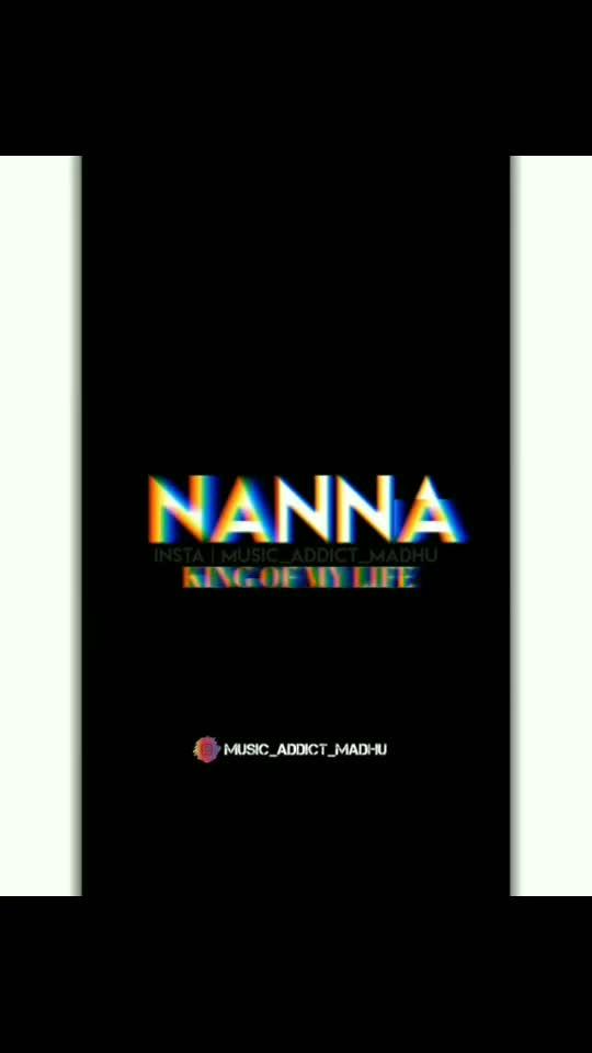 #nanna #nannakuprematho #dadslove #dadlove #dad