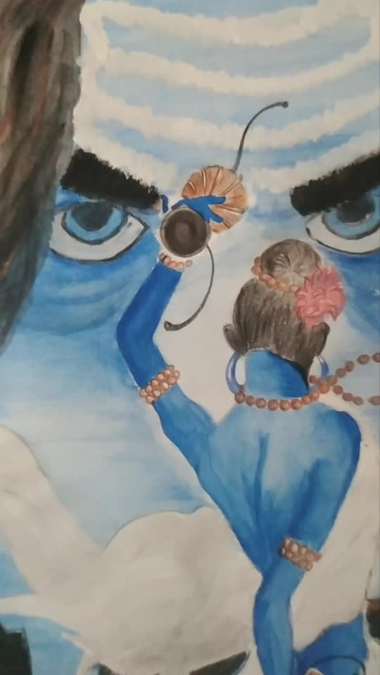 #shiva #kgf #artist #art #painting #creativespace #creatvity