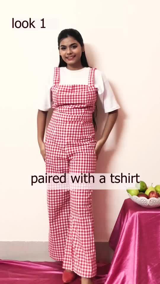 styled one jumpsuit in two ways. #stylingtips #stylingideas #fashioninspo