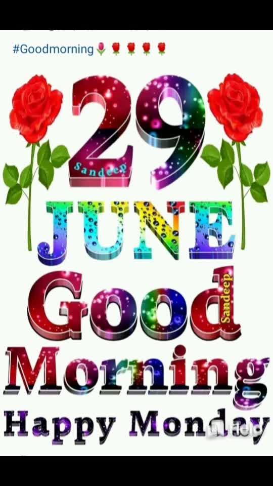 #good morning