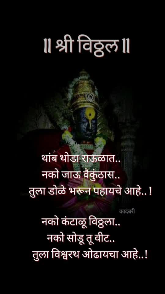 #pandharpur #pandharpurwari #vitthumauli