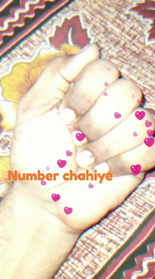 number cahiye   to hath roko....