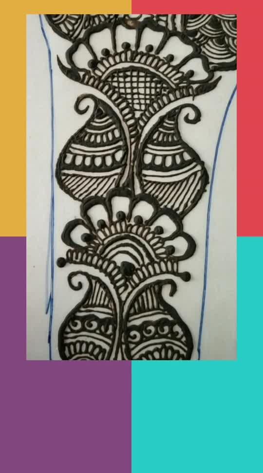 beautiful mehandi design#keep support pls