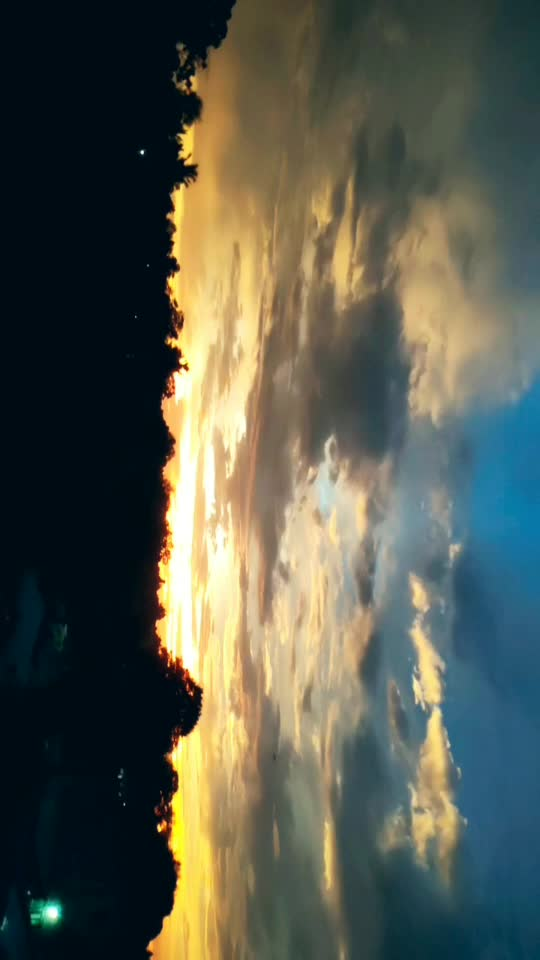 Evening view beautiful view