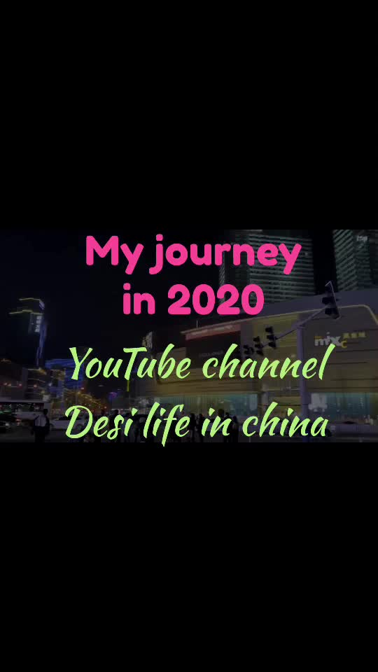 Follow me on YouTube to get real views of abroad @desi life in china