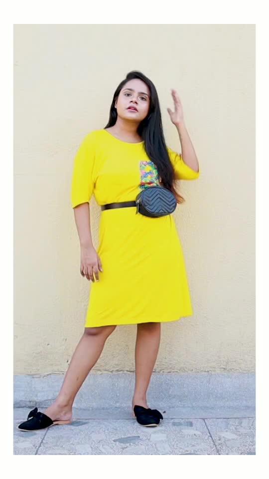 STYLING Loose T-shirt Dress (part 1)#roposo #roposostars #roposochannel #roposovideo #roposofashionblogger