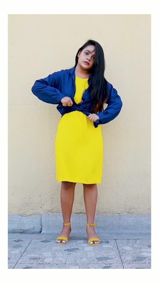 STYLING Loose T-shirt Dress (part 2) #roposostar #roposo #roposofashionblogger #roposovideo