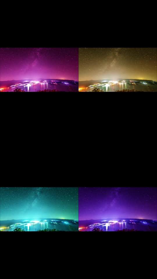 #light #night #starrynight