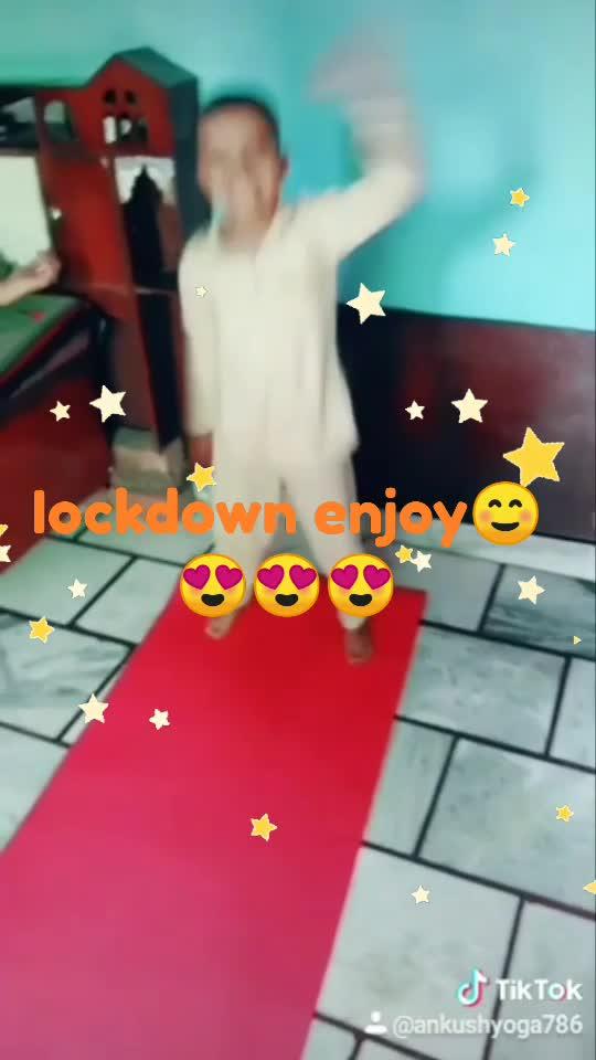 my boy enjoy lockdown