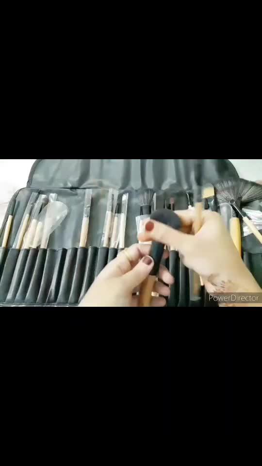 #makeupbrushes #makeupbrushset #amazonshopping #youtubechannel ♥️yellow shine♥️