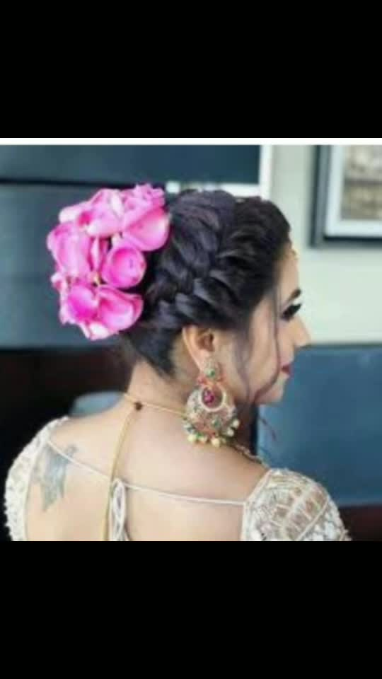 bride hairstyle#beautiful