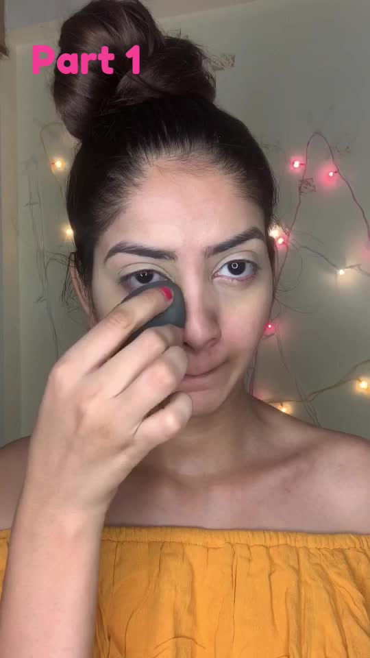 New makeup look for your party night part:-1  #roposostar #risingstar #roposolovers #makeuptutorial #makeupartist