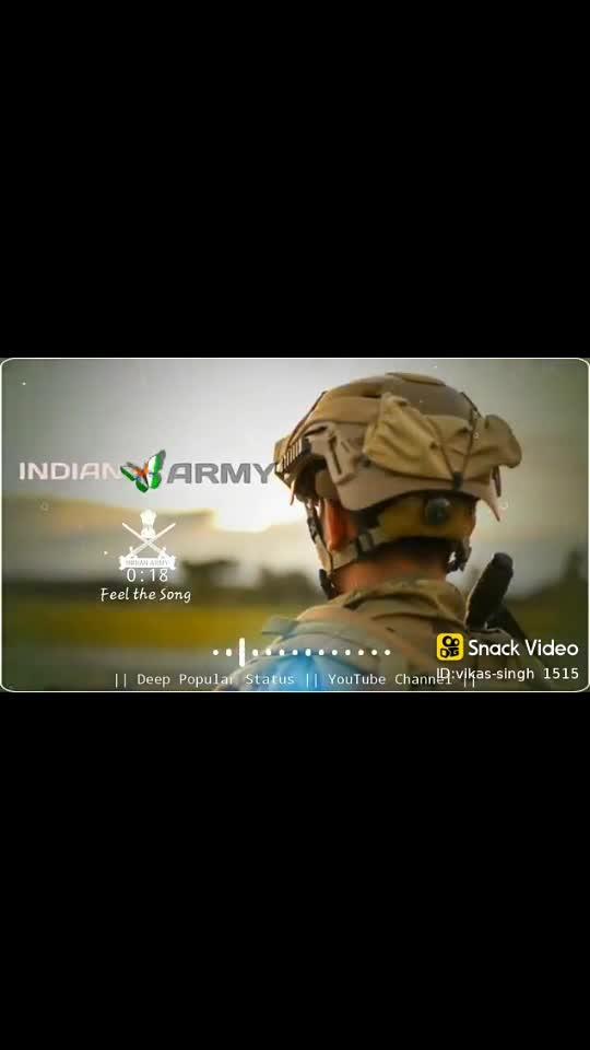Proud Indian army #indianarmy #armylover #armystatus #armyboy #status