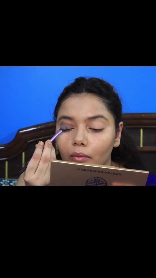 #makeuplover #smokyblueeyes #makeuptutorial #swatisingh #glogirlswati #youtuber