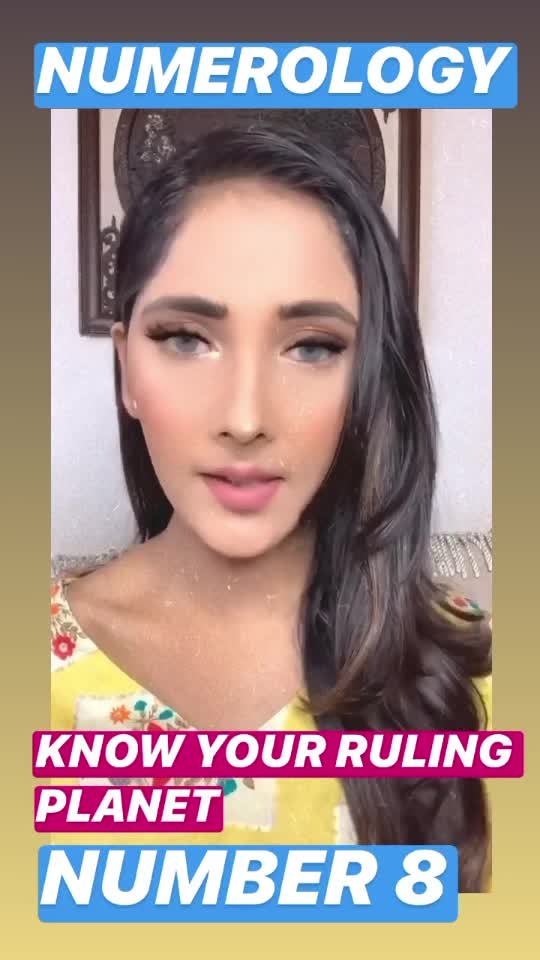 For all the number 8 people🔮watch this to know your ruling planet  For consultation DM @karmmicnumerology or Mail: karmic29@gmail.com  #karmmicnumerology #numerologyknowledge #knowyourrulingplanet #reelitfeelit #reelkarofeelkaro #instagramreels #number8