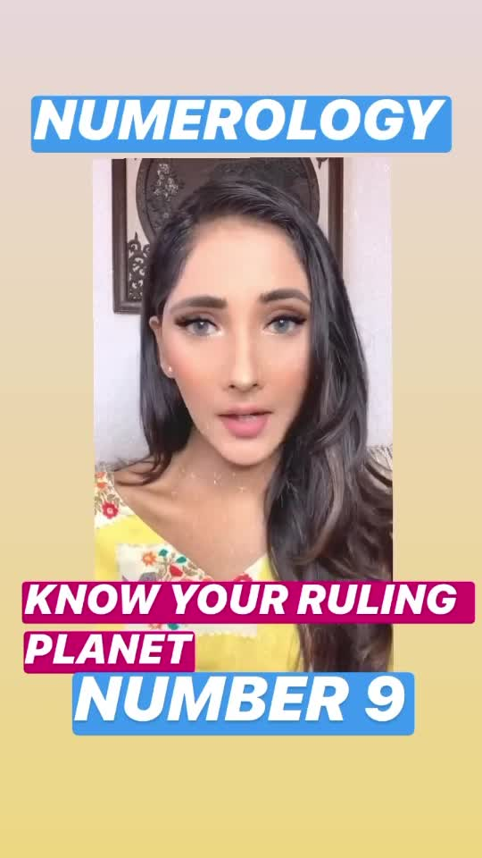 If you are ruled by number 9 then watch this to know your ruling planet!🔮🐚🌞  For consultation: DM @karmmicnumerology or Mail:- karmic29@gmail.com  #Numerology #number9 #rulingnumber #mahhimakottary #karmmicnumerology #numerologyreading #psychicreading