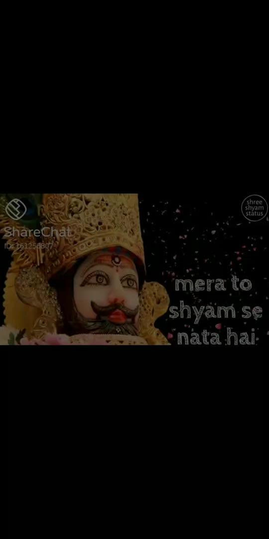 mera to shyam se नाता he#jaishrikrishna #jaishrishyam