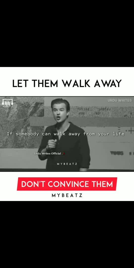 Let Them Walk Away