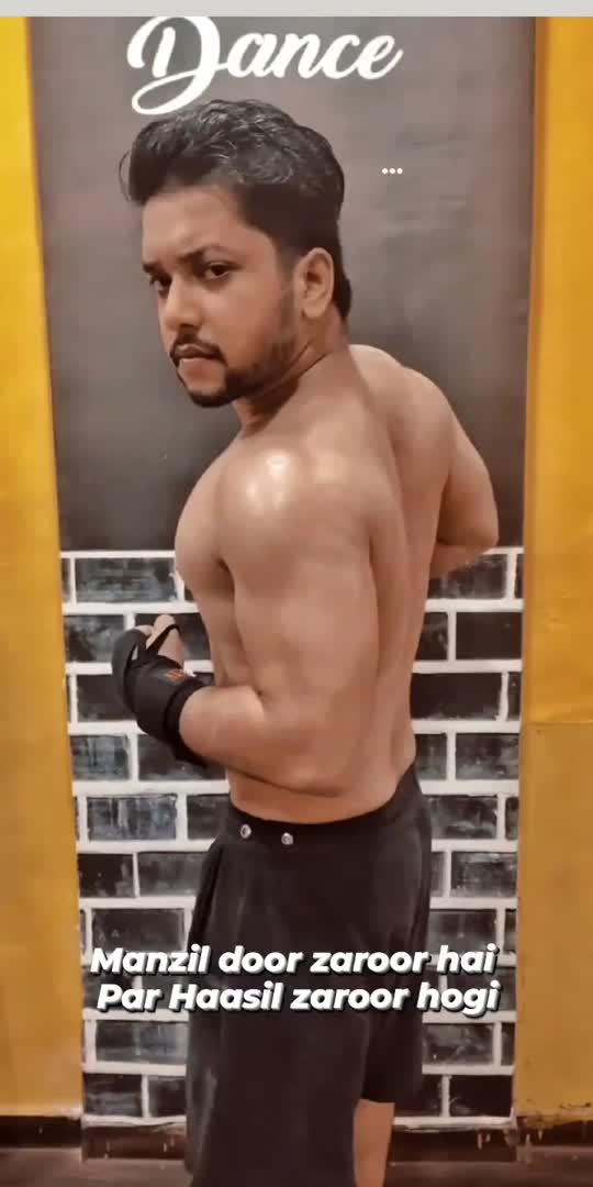 Manzeel door zaroor hai par haasil zaroor hogi ✨ #abhijeetganguli #bodybuilding #workout #gym #gymlovers #roposostar #foryou #foryoupage #trending #risingstar #bodybuilder #motivation #motivationalquotes #motivationstory #workoutmode #aesthetic #aestheticinpain