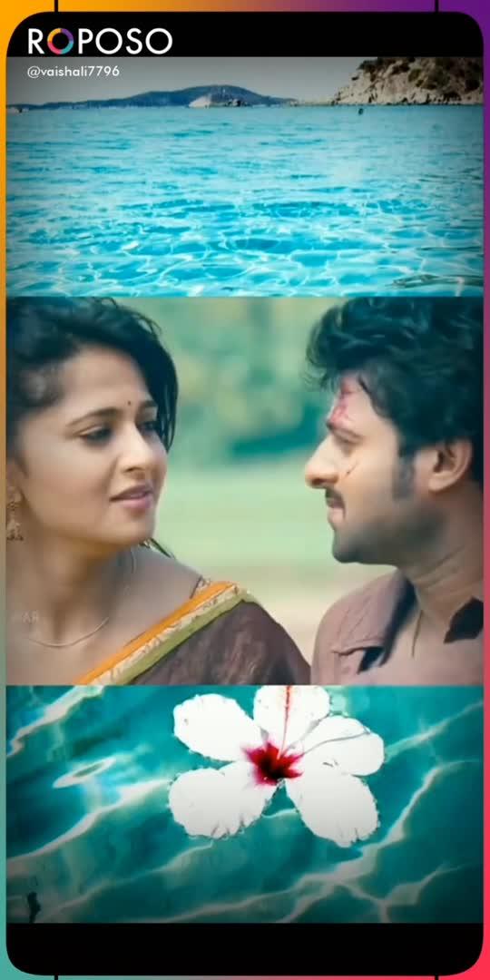 love songs  #prabhas #anushkashetty #raisingstar #lovestatus #roposostar #beatschannels #solfulqutoes #filmysthan