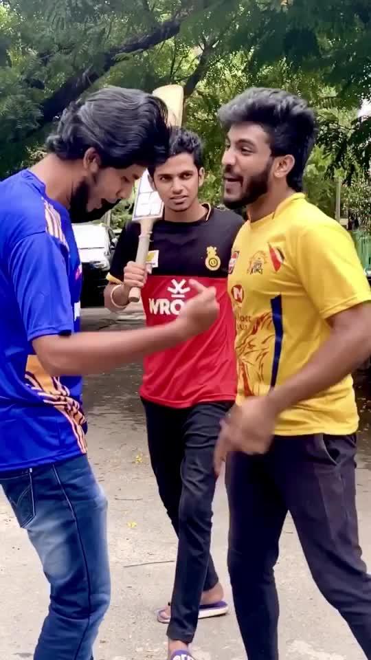 Tag those CSK,MI & RCB fans 😂😛 #tamil #premshyaam #premshyaamvideos #premshyaamroposo