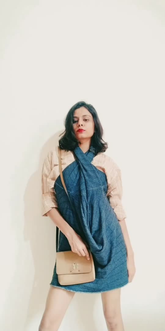 Styling a dress, not so casual way! #fashionblogger #stylingideas #stylingvideos #roposoblogger