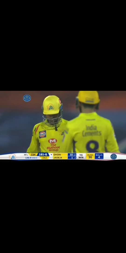 #msdhoni7 #bossisback #3sixes 6️⃣6️⃣6️⃣🏏🏏💯 #csk #chennaisuperkings #cricketlovers #sports #roposo