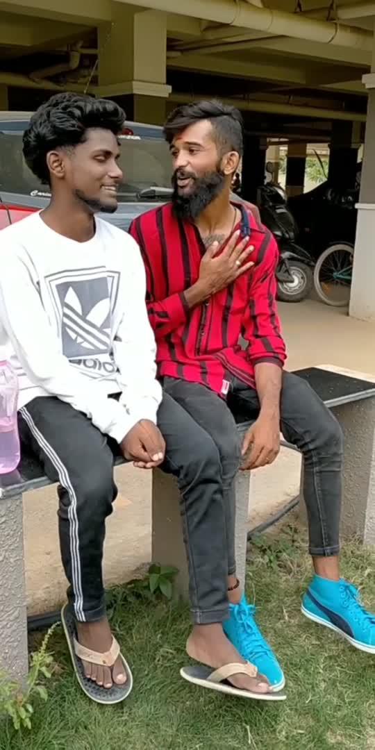 watch till end friends😔🙏 #manugowda #dollymanoj  #roposo #kannada #owncreation
