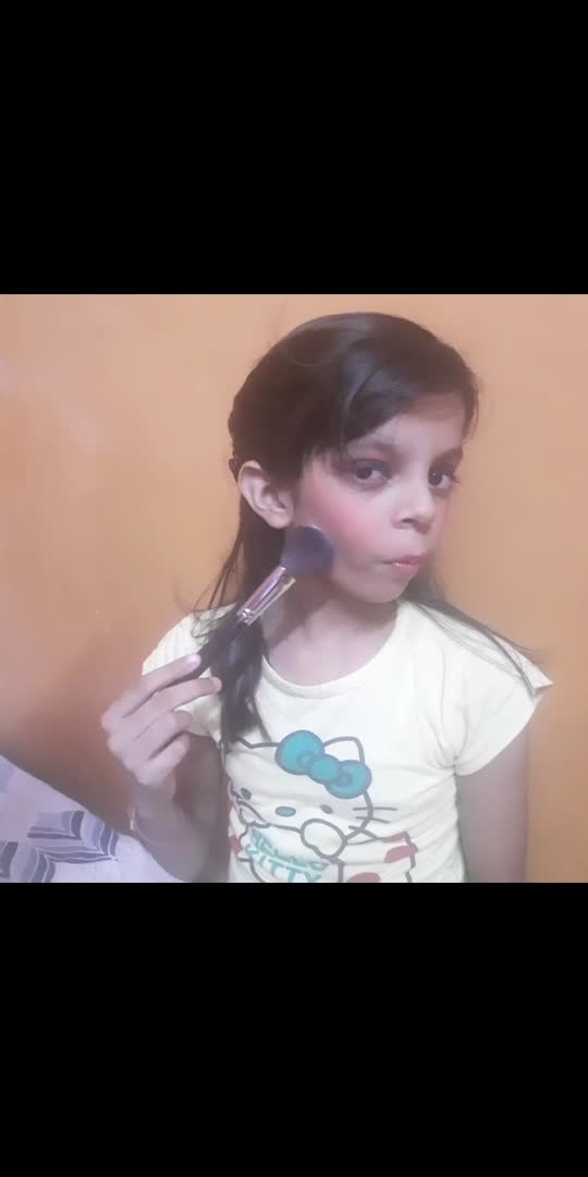 ##makeup ##littlegirl ##beautyful ##makeup