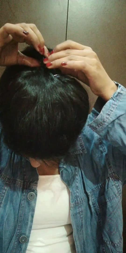 voluminous ponytail trick #hairstyle #fashion