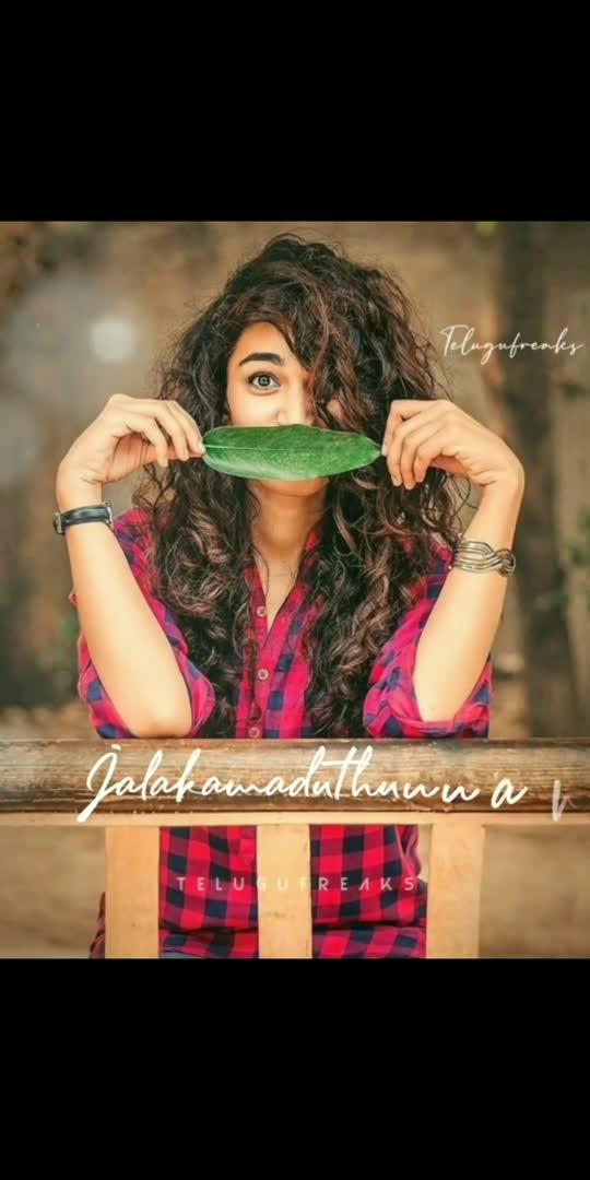Malleshwareve....😍😋 . . . . . . . . . . #yuvasena #bharath #tenevi #nuvvo #gopika #song #lyrics #teluguheroines
