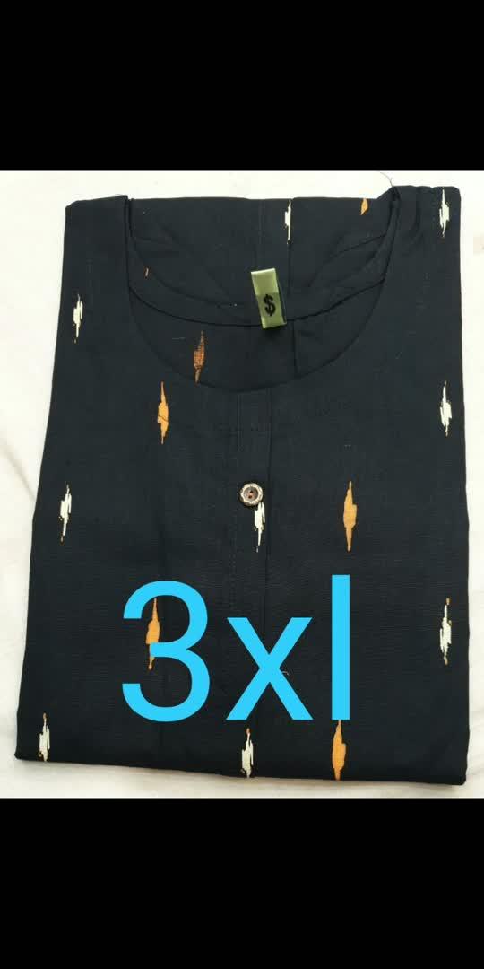 Pure cotton kurtis at unbeatable price  M to xxl - 625/+$hip 3xl to 5 xl -- 675/+$hip  Min 2 pc order UA