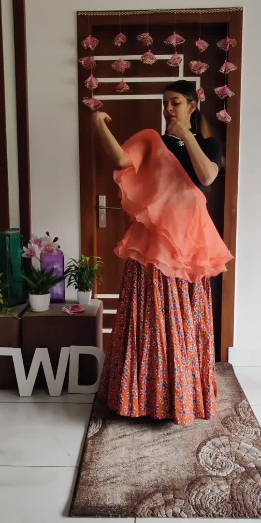 ruffle duppata Styling #styleindia #styleindia #indianwear