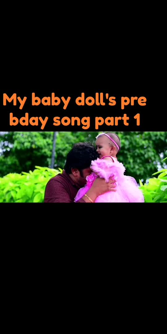My #cutebabygirl #prebirthdaycelebrations #nakshatra #dadslove #cinestylevideos