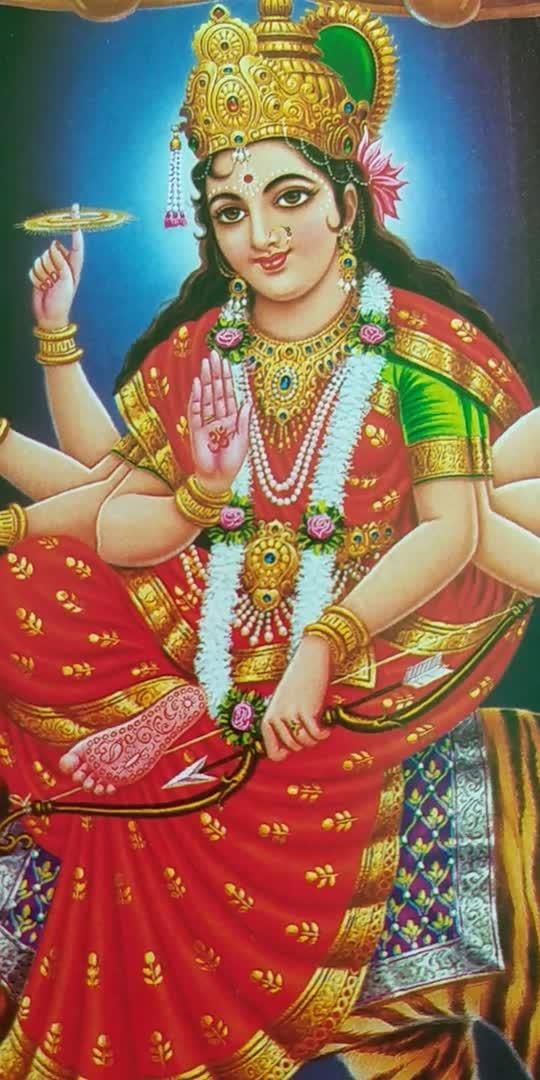 माता रानी जी की आरती । नवरात्रिओ की हार्दिक शुभकामनाएँ । #मातारानी #आरती #नवरात्रि #रोपोसो