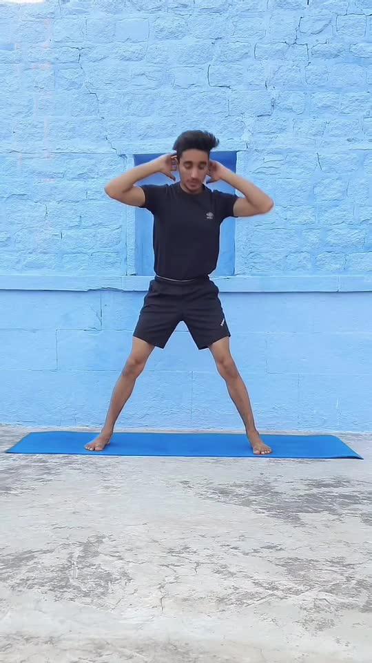 Exercise For Qbliques #yoga #fitness #healthy #roposostar  #risingstaronroposo #trendingvideo #yogatutorial  #videoclip #yogasticlalit #thebluecityyogi