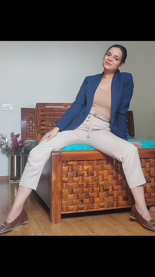 Boss babe look. #yaminikuchhal #style #styleblogger #styleindia