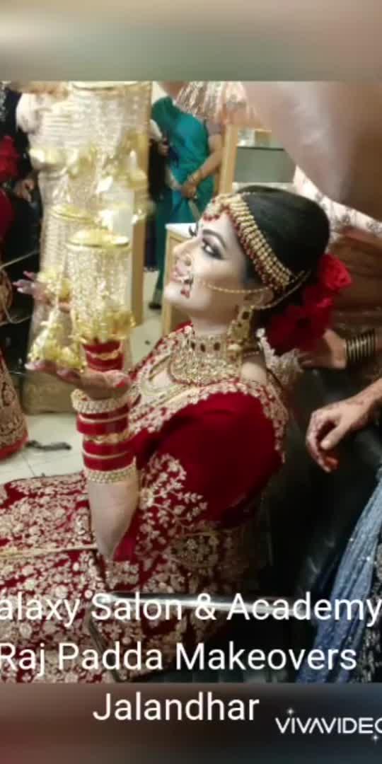 HD bridal makeup & get 1party makeup free.  Booking open Bridal Makeup (+91-9915514146), 0181-4624222 Booking on appointment basis only. Raj Padda Makeovers  Call / WhatsApp :- +91-9915514146  Galaxy Salon & Academy , Urban Estate, P-2, Jalandhar India +91-181-4624222 #jalandhar #jalandharcantt #phagwara #Nakoder  #kapoorthala #Adampur #Hoshiarpur #chandigarh #ludhiana #pb08 #phillor#makeup #Makeovers #makeuplooks #makeuptutorial #makeupartistworldwide #makeupaddiction #makeupwedding #indiangirls #indianwedding #india #indian #makeupgoals😍 #makeupforbeginners #makeupforever #jalandhar #delhi #punjab #punjabiweddingcouple