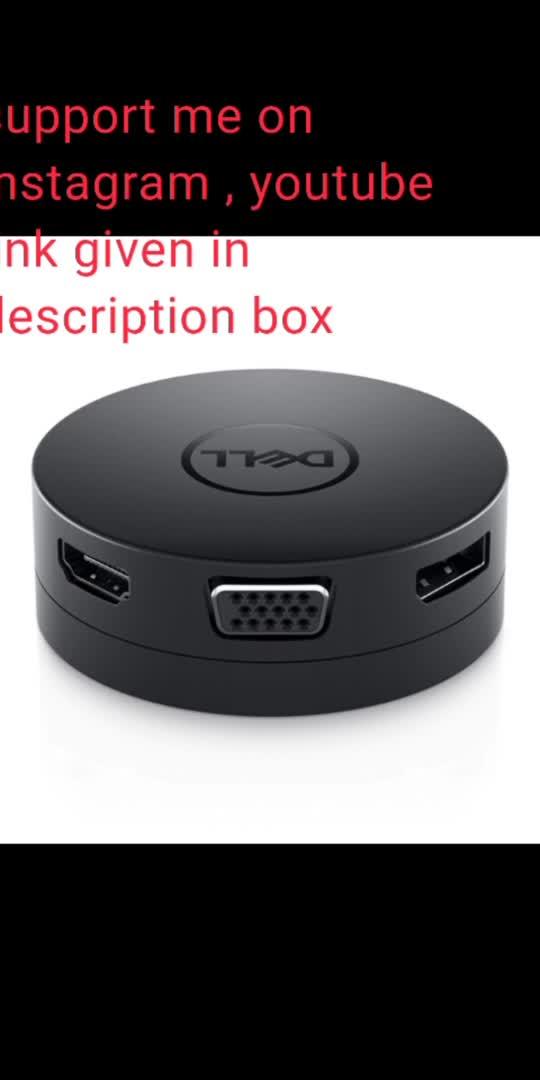 Dell Mobile USB-C DA300 yt link : https://www.youtube.com/channel/UCWHtublyy9nejIGnB0gcjLA?sub_confirmation=1 #toposo #pubg #freefire #trends #trending  https://www.youtube.com/channel/UCWHtublyy9nejIGnB0gcjLA?sub_confirmation=1
