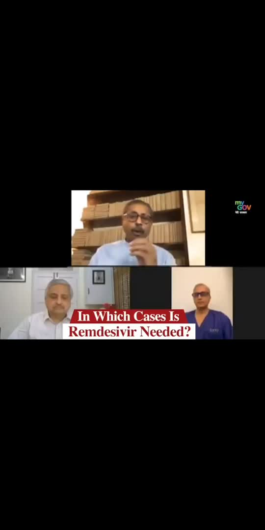 In which cases, #Remdevisir is required for the treatment of COVID-19? Watch this video where Dr Naresh Trehan, Chairman, Medanta will explain this in detail! #IndiaFightsCorona